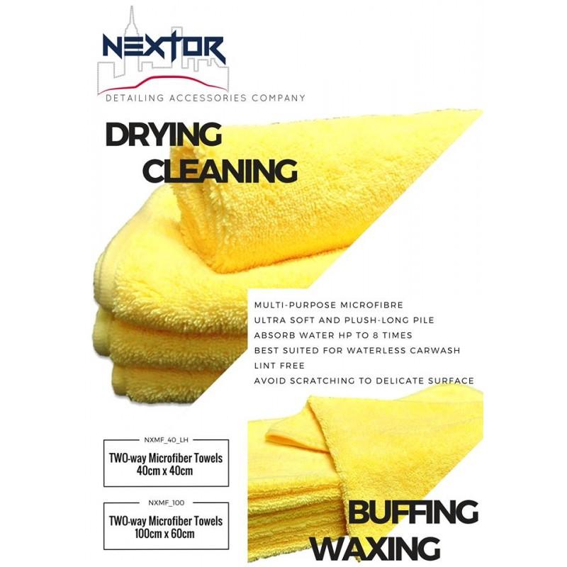 超微纖長短毛巾 40X40CM